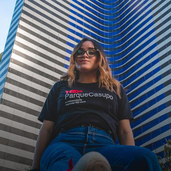 Franny Ortega - Analista de Producción TEDxParqueCasupo