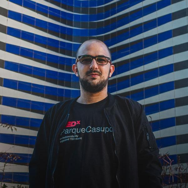 Kaled Hadaya - Organizador TEDxParqueCasupo