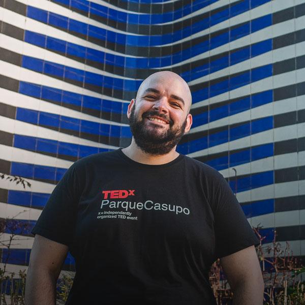 Manuel Behrens - Diseñador Gráfico TEDxParqueCasupo