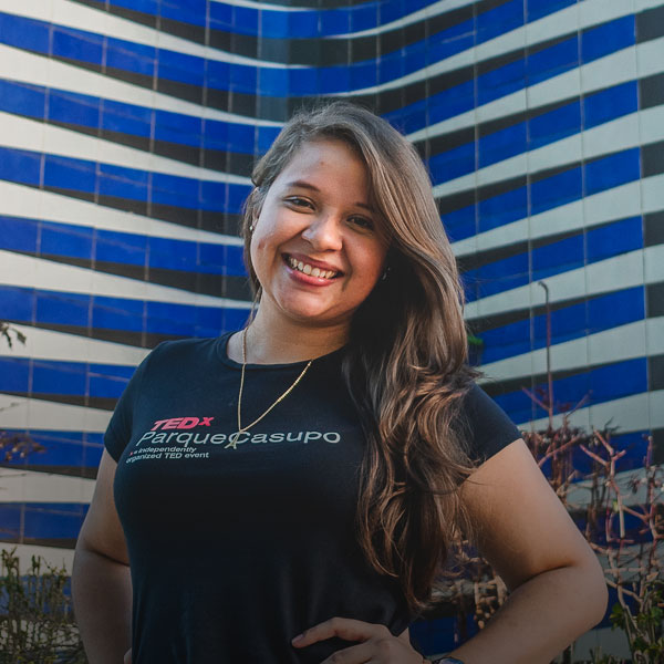 María Rodríguez - Directora de Voluntariado TEDxParqueSacupo